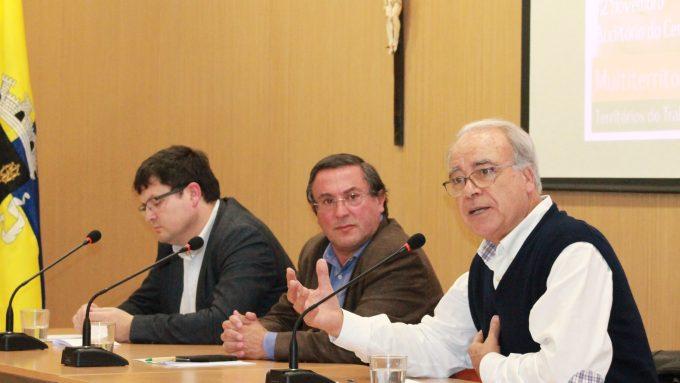 Paulo Pedroso, António Marçal e Carvalho da Silva