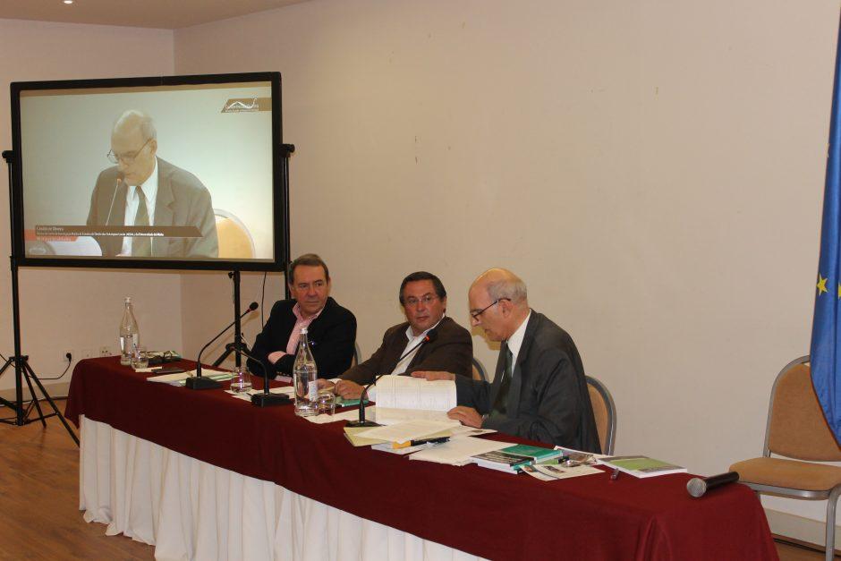 Amândio Torres, António Marçal e Cândido de Oliveira