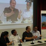 Patrícia Duarte, António Marçal, João Pedroso e Porfírio Silva